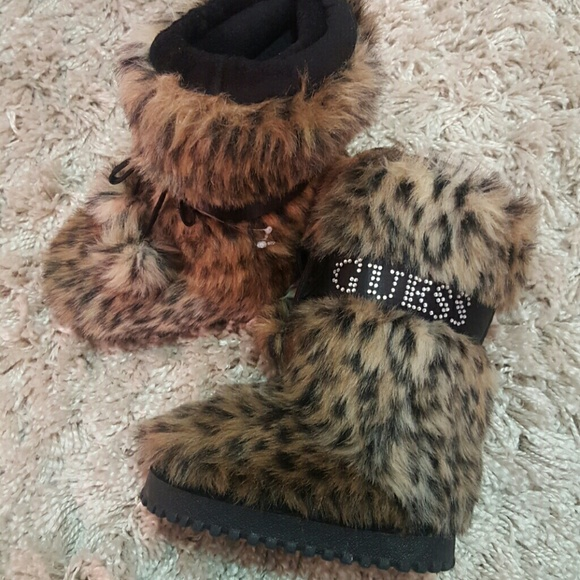 5d5d58f3fbadaf Guess Shoes | Sale Nwot Girls Andorra Faux Fur Boot | Poshmark